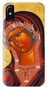 Mother Of God Similar To Fire 007 IPhone Case