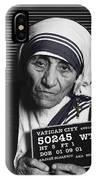 Mother Teresa Mug Shot IPhone Case