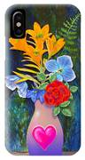 Mothers Day Bouquet IPhone Case