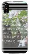 Mother's Day Greeting And Angel IPhone Case