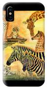 Mother's Day In The Wild Kingdom IPhone Case