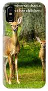 Mother's Protection IPhone Case