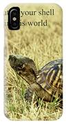 Motivating A Turtle IPhone Case