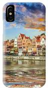 Gdansk Motlawa River- Poland IPhone Case