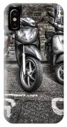 Motor Cycles IPhone Case