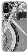 Motorcycle, 1898 IPhone Case