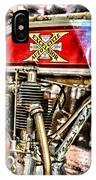 Motorcycle - 1914 Excelsior Auto Cycle IPhone Case