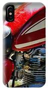 Motorcycle - 1974 Honda Cl 125 Scrambler IPhone Case