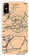 Motorcycle Patent 1925 IPhone Case