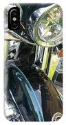 Motorcyle Classic Headlight IPhone Case