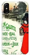 Moulin De La Galette IPhone Case