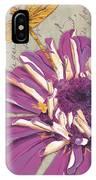 Moulin Floral 2 IPhone Case