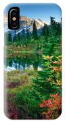 Mount Shuksan Fall Cornucopia IPhone Case