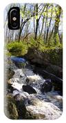 Mountain Creek In Spring IPhone Case
