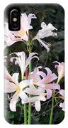 Mountain Lillies IPhone Case