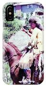 Mountain Man On A Horse IPhone Case