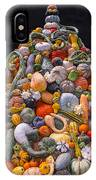 Mountain Of Gourds And Pumpkins IPhone Case