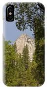 Mountain Peak In Yosemite National Park IPhone Case