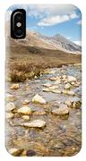 Mountain Stream From Beinn Eighe IPhone Case