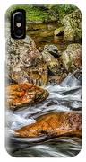 Mountain Stream Rushing After Heavy Rain E134 IPhone Case
