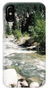 Mountain Stream Scenic Highway 395 California Usa IPhone Case