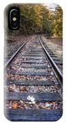 Mountain Tracks IPhone Case