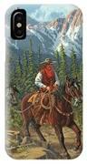 Mountain Traveler IPhone Case