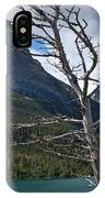 Mountain View At Glacier National Park IPhone Case