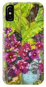 Mountain Wild Flowers IPhone Case
