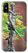Mountaineer Statue IPhone Case