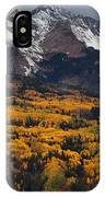 Mountainous Storm IPhone Case