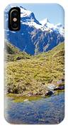 Mountains Of New Zealand IPhone Case