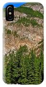 Mountains West Of Kicking Horse Campground In Yoho Np-bc IPhone Case