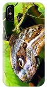 Mournful Owl Butterfly Wings IPhone Case