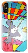 Mouse In Balloon IPhone Case