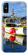 Mousehole Harbour IPhone Case