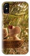 Mousie Love In A Tree IPhone Case