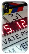 Movie Slate From Private Parctice IPhone Case