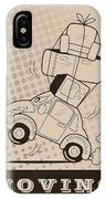 Moving Car IPhone X Case