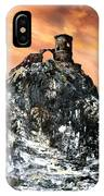 Mow Cop Castle Staffordshire IPhone Case