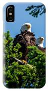 Mr. And Mrs Eagle IPhone Case