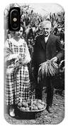 Mr. And Mrs. Luther Burbank IPhone Case
