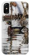 Mr. And Mrs. Wood Duck IPhone X Case