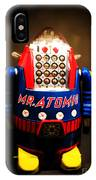 Mr. Atomic Tin Robot IPhone Case
