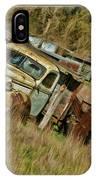 Mr Greenjeans Truck IPhone Case