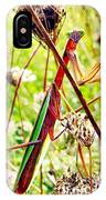 Mr Mantis IPhone Case