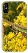 Mr. Mantis IPhone Case