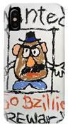 Mr. Potato Head Gone Bad IPhone Case