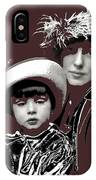 Mrs. Evelyn Nesbit Thaw And Son Arnold Genthe Photo New York 1913-2014 IPhone Case
