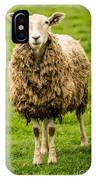 Mt Angel Abbey Sheep - Oregon IPhone Case